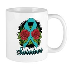 Gynecologic Cancer Survivor Tattoo Mug