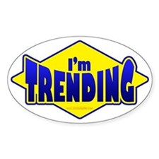I.m Trending... Decal