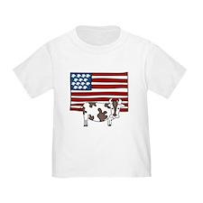 Patriotic Cow T
