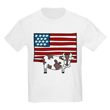 Patriotic Cow T-Shirt