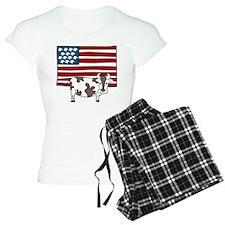 Patriotic Cow Pajamas