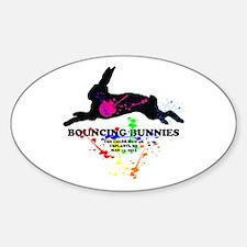 Bouncing Bunnies Team Logo Decal