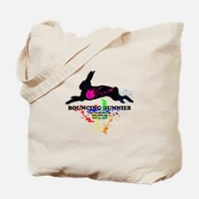 Bouncing Bunnies Team Logo Tote Bag