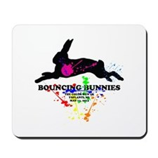 Bouncing Bunnies Team Logo Mousepad