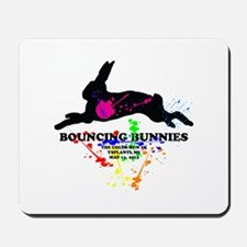 Bouncing Bunnies Team Logo Mousepad