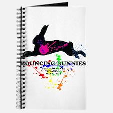 Bouncing Bunnies Team Logo Journal