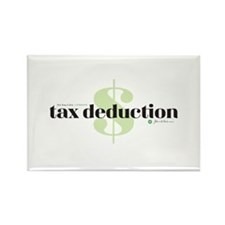 Tax Deduction Rectangle Magnet