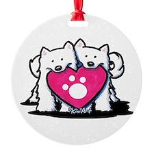 Valentine Duo Ornament