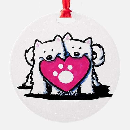 Valentine Duo Ornament