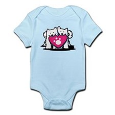 Valentine Duo Infant Bodysuit