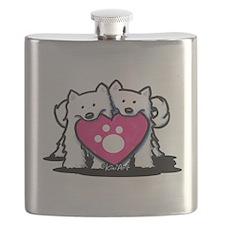 Valentine Duo Flask