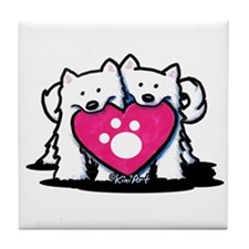 Valentine Duo Tile Coaster