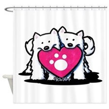 Valentine Duo Shower Curtain