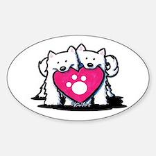 Valentine Duo Decal
