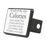 Calories Rectangular Hitch Cover