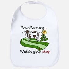 Cow Country Bib