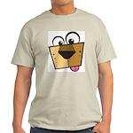 Abstract Dog 01 Ash Grey T-Shirt