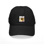 Abstract Dog 01 Black Cap