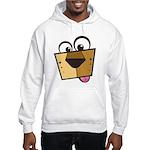 Abstract Dog 01 Hooded Sweatshirt
