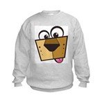 Abstract Dog 01 Kids Sweatshirt