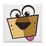 Abstract Dog 01 Tile Coaster