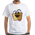 Abstract Dog 01 White T-Shirt
