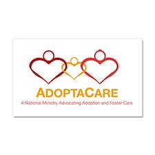 AdoptaCare Logo Car Magnet 20 x 12