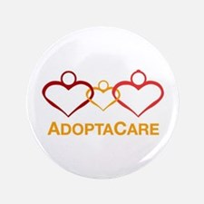 """AdoptaCare Logo 3.5"""" Button"""