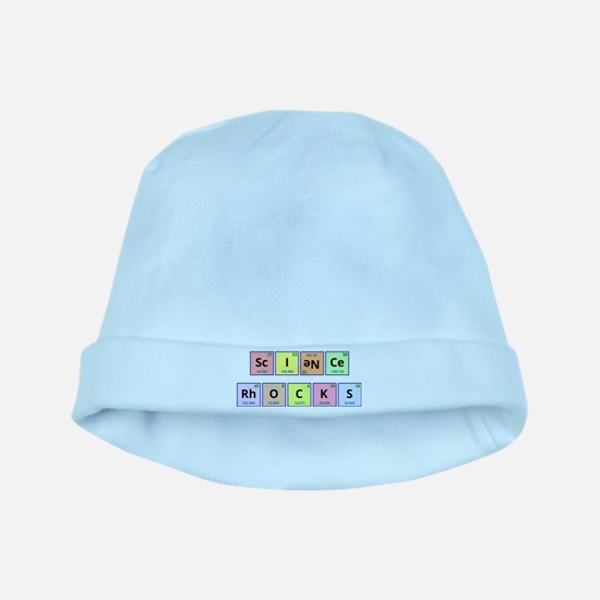 Science Rocks baby hat
