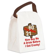 60 The New 21 Canvas Lunch Bag