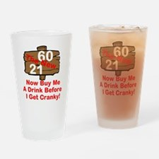 60 The New 21 Drinking Glass