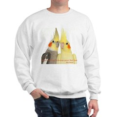 Cockatiel 2 Steve Duncan Sweatshirt