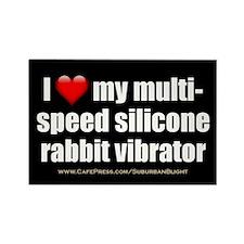 """Love Multi-Speed Vibrator"" Rectangle Magnet (100"