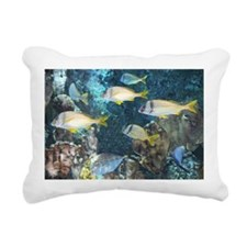 Aquarium Fish Rectangular Canvas Pillow