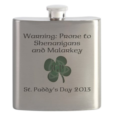 St. Paddy's Day Flask