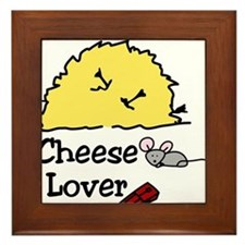 Cheese Lover Framed Tile