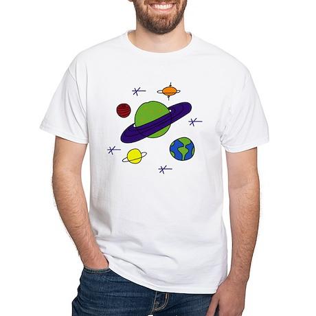 Galaxy white t shirt galaxy shirt for Galaxy white t shirts wholesale