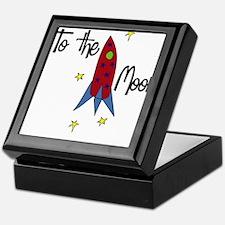 To The Moon Keepsake Box