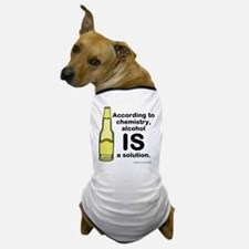 Alcohol Solution Dog T-Shirt