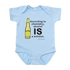 Alcohol Solution Infant Bodysuit