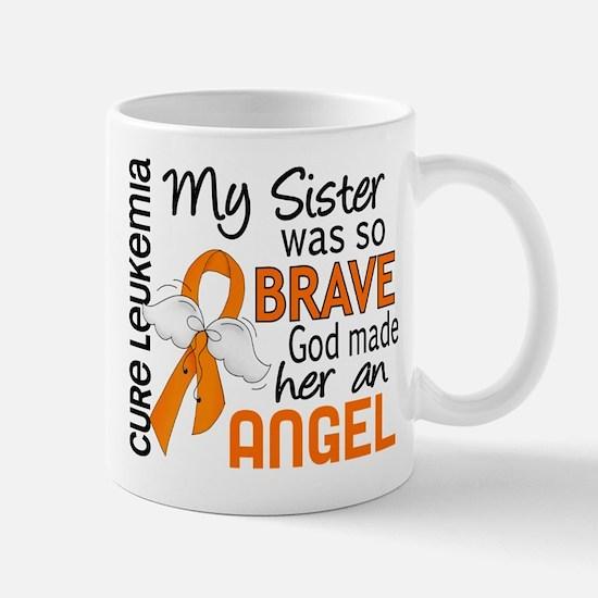 D Angel 2 Sister Leukemia Mugs