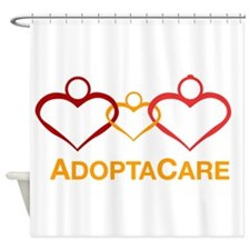 Foster care Shower Curtain