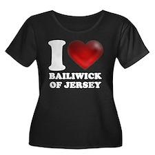 I Heart Bailiwick of Jersey T