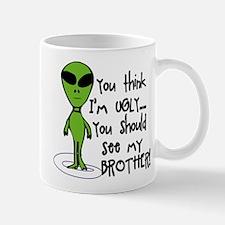 Ugly Alien Mug