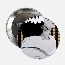 "Bride of Frankenstein Illustration 2.25"" Button"
