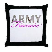 DCU Army Fiancee Throw Pillow