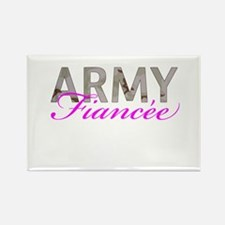 DCU Army Fiancee Rectangle Magnet