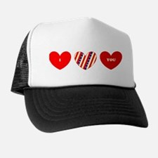 I Love Your <3 Valentines Day Trucker Hat