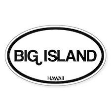 Big Island Hawaii Decal