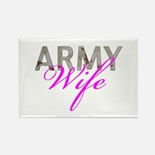 DCU Army Wife Rectangle Magnet
